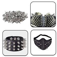 Spike Cone Silver Screwback Studs Leathercraft Jean Cap Jackets Stylish Fashion