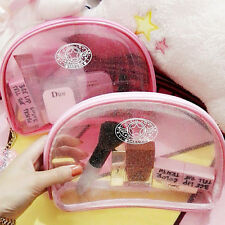 2x Card Captor Sakura handBag Wallet Purse cosmetic bag make up bag New pink+red