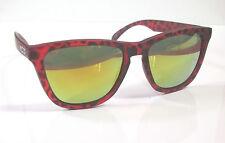 "Nectar Polarized ""Banyan"" Sunglasses NIB w/Micro Bag Red Tortoise / Orange Crush"
