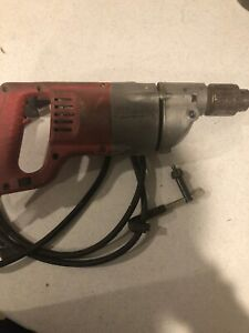 """Used Milwaukee Tool model 1101-1, 1/2"""" heavy duty electric power drill"""