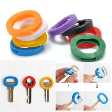 Fashion 8Pcs Hollow Silicone Key Cap Covers Topper With Bly Braille Accessories