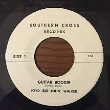 LOYD (BIG JOHN) WALKER Guitar Boogie 45 PRIVATE Rockabilly UNKNOWN HEAR