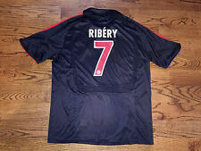 Men's XL adidas 2007/08 FC Bayern Munich UEFA Cup Franck Ribery #7 Soccer Jersey
