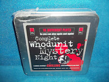 COMPLETE WHODUNIT MYSTERY NIGHT - 10 DIFFERENT PLOTS - ROLE PLAYING - NEW SEALED
