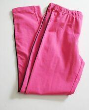 Ralph Lauren Girls Single Stripe Leggings Pink Sz S (7) - NWT