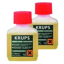 Krups xs9000 Liquide de Nettoyage pour Café/Espresso Machines 100 ml Contenu