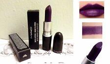 Mac rouge à lèvres mat punk couture ( CHAUD VIOLET finition satinée) collection