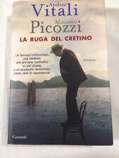 Libro Massimo Picozzi La Ruga Del Cretino Di Andrea Vitali