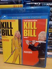 Kill Bill 1 & 2 Blu Ray Canadian Import Region A