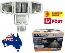 SunForce Triple Head 180 LEDs Solar Motion Activated Light Sensor 1500 Lumens