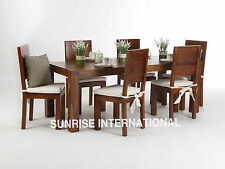 Monalisa Wooden Dining table with 6 chairs furniture set !