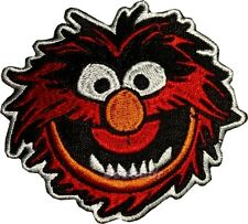 Animal Face Embroidered Patch Kermit the Frog Miss Piggy Gonzo Fozzie Bear
