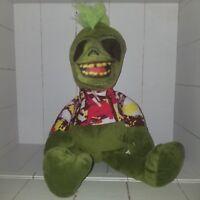 Green Zombie Creepy Ghoul Freak Plush Stuffed Animal Haunted Scary K & K Sales