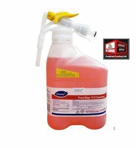New, Diversey Final Step 512 Cleaner, 5 L, 5753301 *D-13.11oc5*