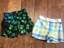 Lot of 2 Baby Boy Swim Trunks | 3-6 Months | Gymboree & Unbranded |Guc