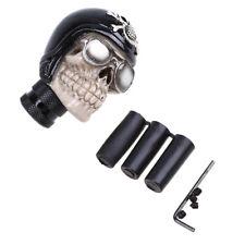 Black Skull Stolen Head Universal Car Manual Stick Gear Shift Knob Lever Handle