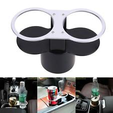Auto Car Seat Double Cup Holder Food Drink Bottle Mount Stand Storage Organizer