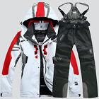 Men's Winter Waterproof Outdoor Coat  Pants Ski Suit Jacket snowboard Clothing