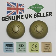 TWO x GOLD IN LINE LIGHT FOOTSWITCH - UK SELLER - 6 month Guar & OVER 1200 SOLD