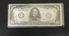 1934 A $1000 Bill Fed Reserve Note Philadelphia