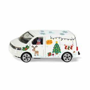 "Siku 6505 Modèle "" Style My "" VW T5 Bus Bonhomme de Neige Blanc Dans Carton Neuf"