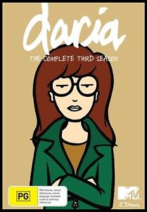 Daria - Season 3  - 2 Disc Set - New & Sealed Region 4 DVD - FREE POST