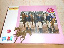 puzzle 500 pièces GRAND GALOP (2) chevaux - sous blister