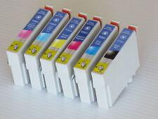 6pk For Epson Artisan 725 730 800 835 837 T0981-T0996 Ink Cartridge T098 T099