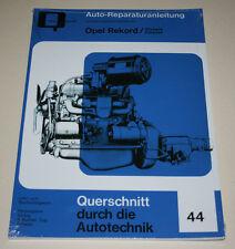 Reparaturanleitung Opel Rekord P1 + P2 + Olympia Rekord, Baujahre 1953 - 1963