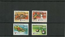 PAPUA NEW GUINEA SG460-463 COMMONWEALTH GAMES & ANPEX 82 BRISBANE  SET MNH