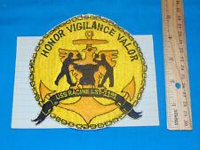 Korea-Vietnam War USN Navy Patch, USS RACINE LST-1191 (#1063)