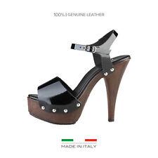 Zapatos de tacón de mujer negro Versace, Talla 39