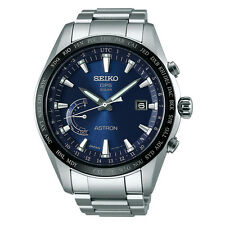 New Seiko Astron Solar GPS Titanium Men's Watch SSE109