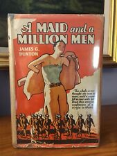 A Maid And A Million Men by James G. Dunton 1928 Woman Soldier WWl