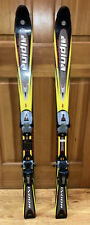 New listing Alpina Condor High Performance Snow Skis 120 Cm With Marker M450 Bindings