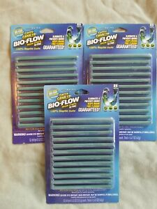 Green Gobbler Bio-Flow Drain Strips 3  12-packs! You get 36 sticks total