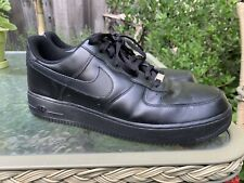 829a7d13da398a NIKE AIR FORCE ONE 315122-001 Men's Black Athletic Shoes Casual Sneakers Sz  13
