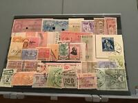 Trade Price stamps Revenue value card Stamps  R23176