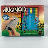 RARE COMPLETE Arkanoid Nintendo Entertainment System NES Vaus ControllerMANUAL