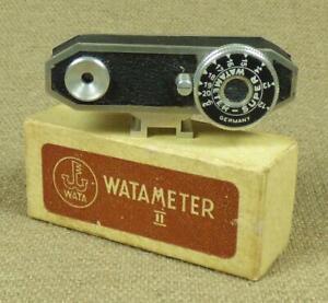 WATAMETER SUPER, UNIVERSAL RANGEFINDER with Original Box - Germany