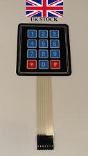 Keypad 4x3 Matrix array membrane switch keyboard AVR,Arduino,PIC,Raspbery PI