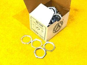 """NEW BOX of (50) APPLETON BL100 1"""" RIGID CONDUIT LOCKNUTS"""