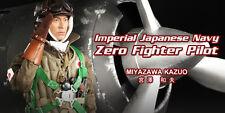 DRAGON in DREAMS DID 3-R 1/6 WW II giapponese Miyazawa Kazuo ZERO pilota