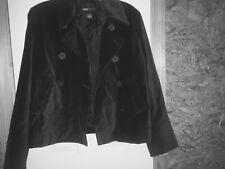Black Velvet Moda Intl VS Brand Peacoat Size Medium