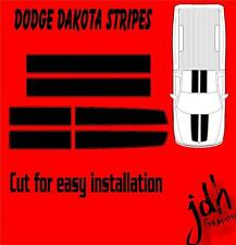 Dodge Dakota Rally Racing Stripes Vinyl Decal Sticker Graphics Easy Hood Bumper