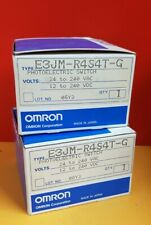 OMRON E3JM-R4S4T-G PHOTOELECTRIC SWITCH