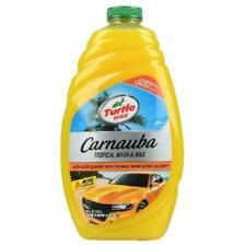 Turtle Wax Carnauba Wash & Wax 48 Oz containers.