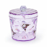 Glitter Clear Canister Kuromi Sanrio Japan Japanese Kawaii Goods
