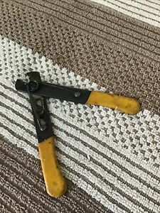 """K. Miller Tool  5"""" Wire Stripper Cutter Electrician Tool 101-S Made in USA Used"""