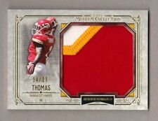 2014 Topps Museum Collection DE'ANTHONY THOMAS Rookie Patch Gold 24/25 Chiefs